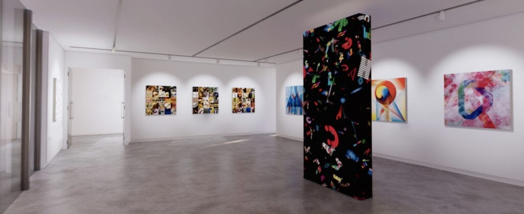 Milanese Artist Lorenzo Marini Launches ALPHATYPE 21 A 3D Virtual Art and Poetry Exhibit