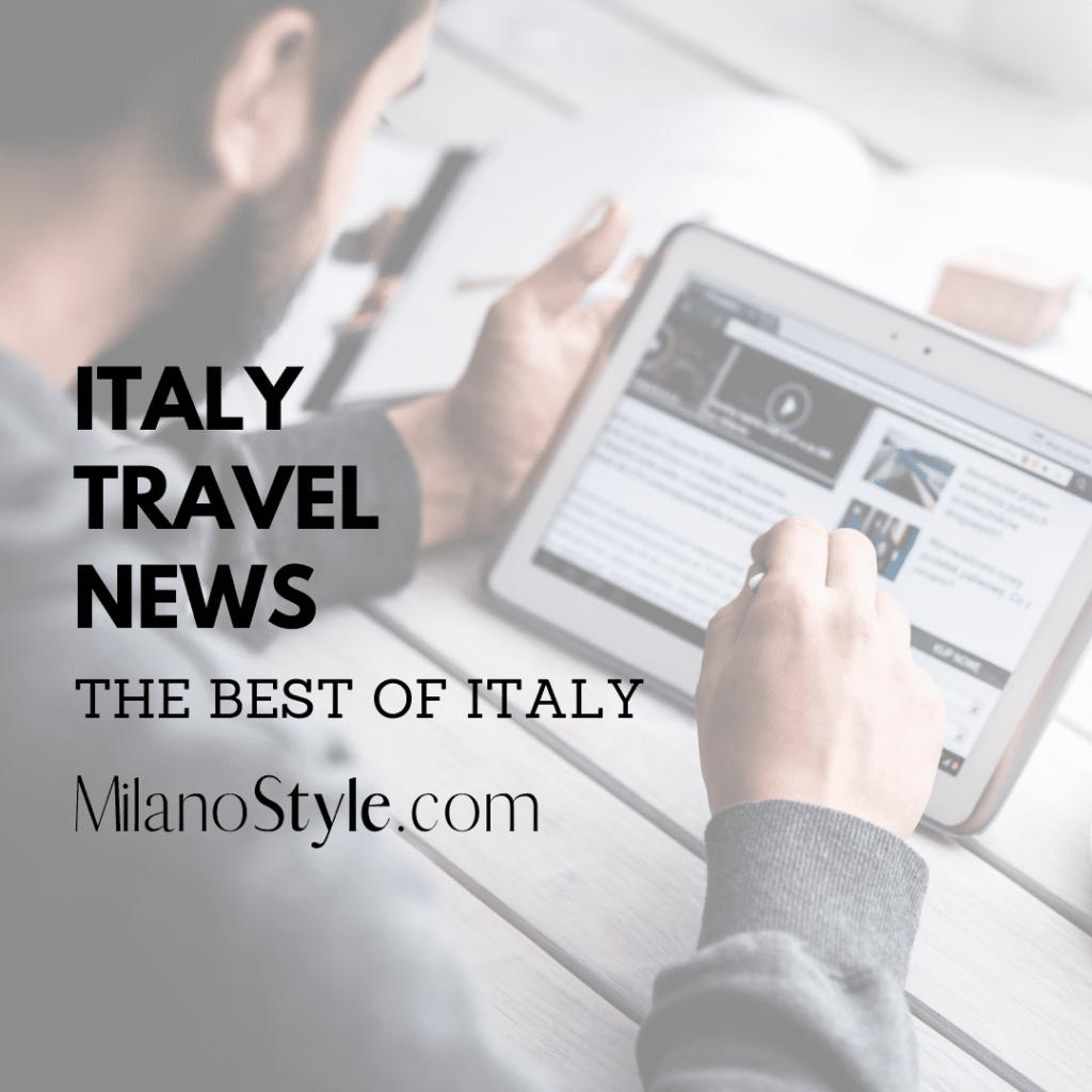 Italy Travel News