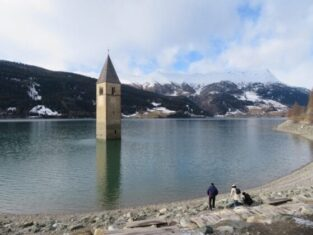The Submerged Church of Curon Venosta Lake Resia
