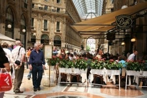 Outlet Shopping Milan, Italy