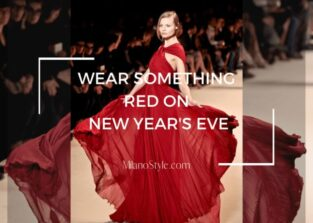 Wear Something Red on New Year's Eve