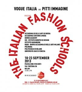 The Italian Fashion Schools Project, Milano Fashion Week