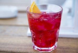 Italian Cocktails Americano & Spritz