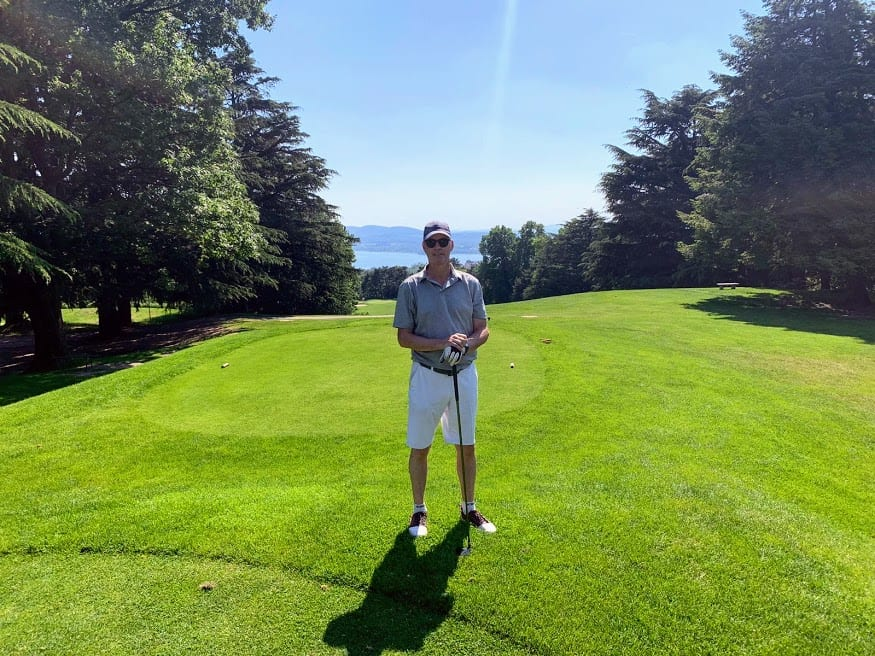 golf in italy