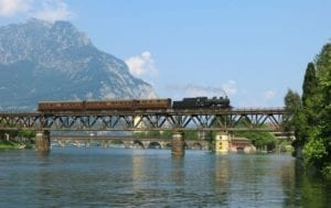 Lario Express, Vintage Locamotive from Milan to Lake Como