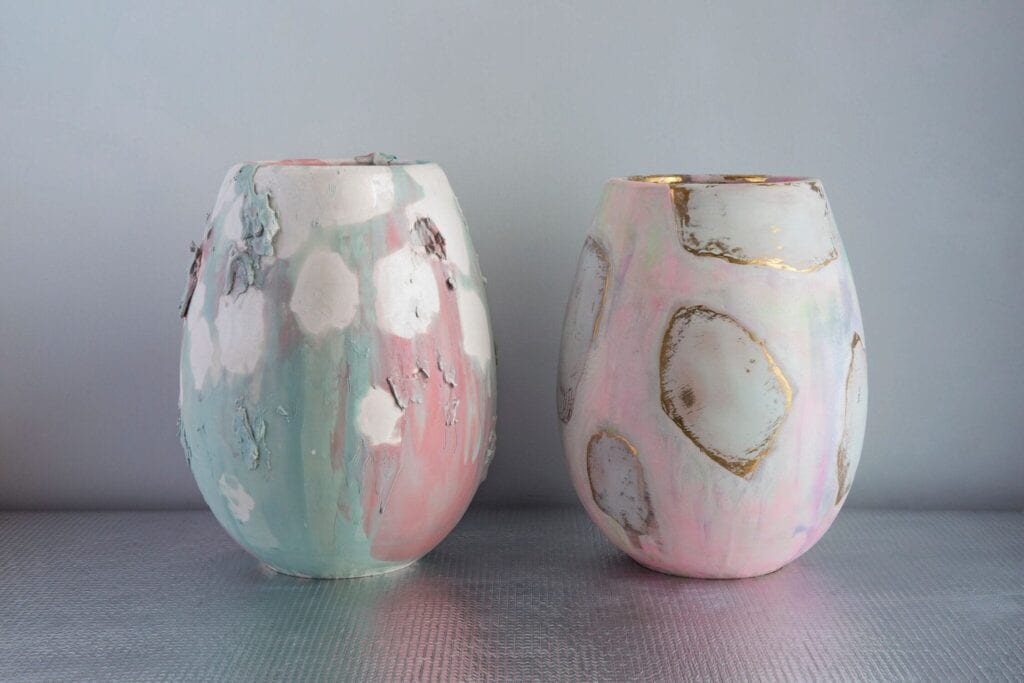 ceramic vases by Coralla Maiuri