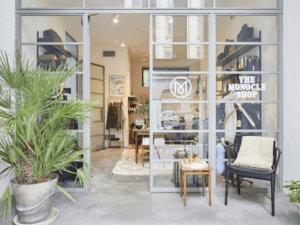 The Monocle Shop in Milan