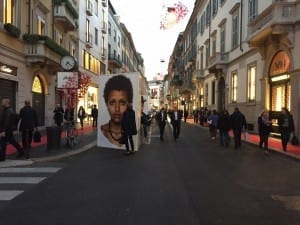 Campari Fashion Avenue with Associazione MonteNapoleone